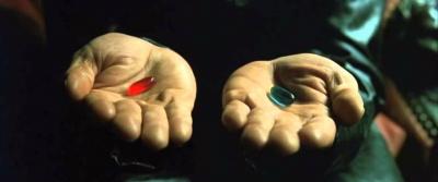 'Uma Pílula Vermelha Para Viagem'