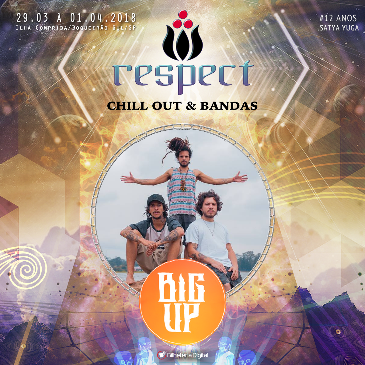 Big Up @ Artista Confirmado Respect Festival 2018