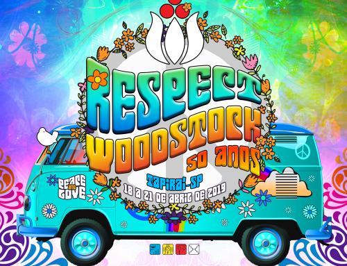 ReSPect Festival 2019 – 13 Anos (Feriado de Páscoa) 18 a 21 de Abril de 2019 – Tapiraí / SP Woodstock 50 anos