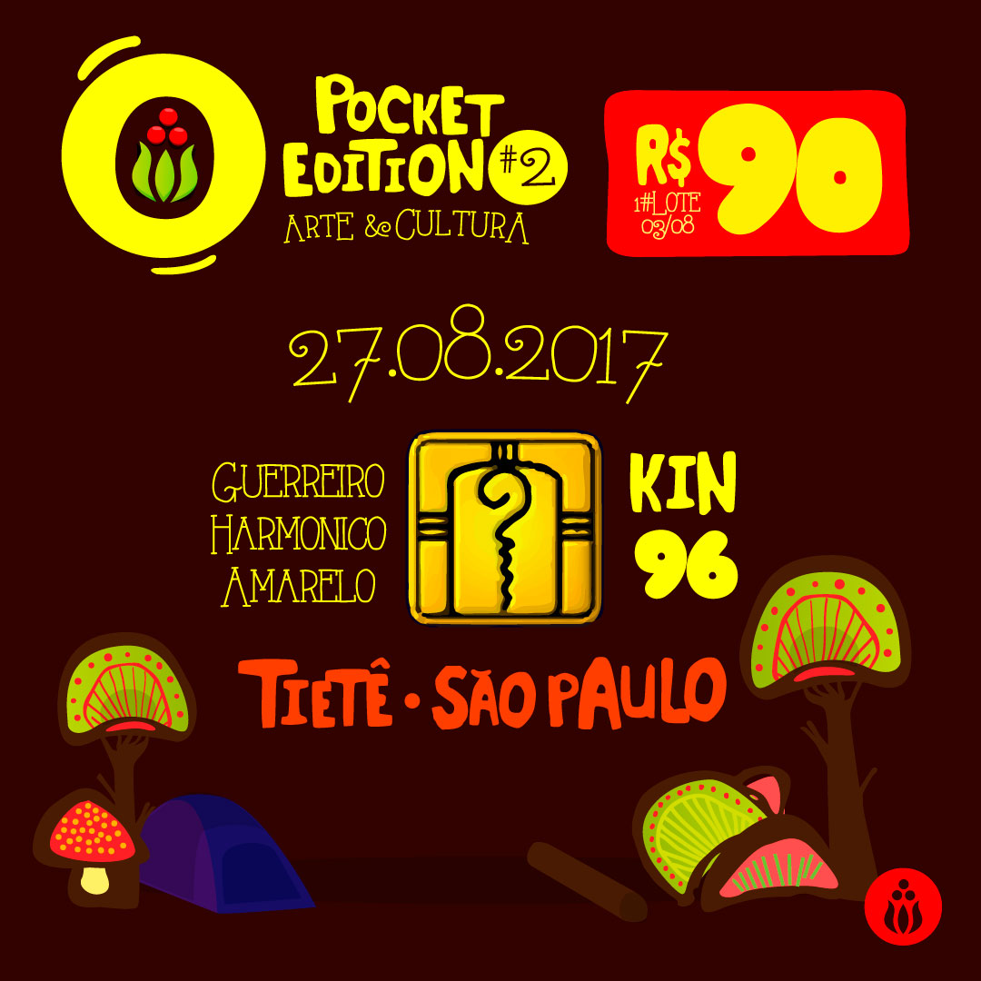 Kin 96, Guerreiro Harmónico Amarelo @ Respect Pocket #2