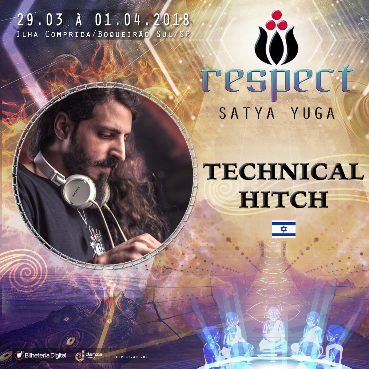 Technical Hitch @ Artista Confirmado Respect Festival 2018
