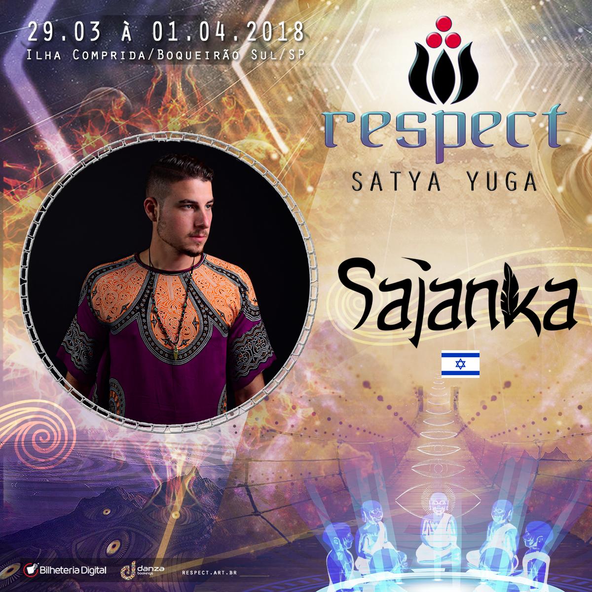 Sajanka (Israel) @ Artista Confirmado Respect Festival 2018