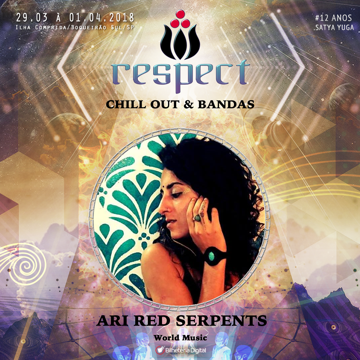 Ari red serpents @ Artista Confirmado Respect Festival 2018
