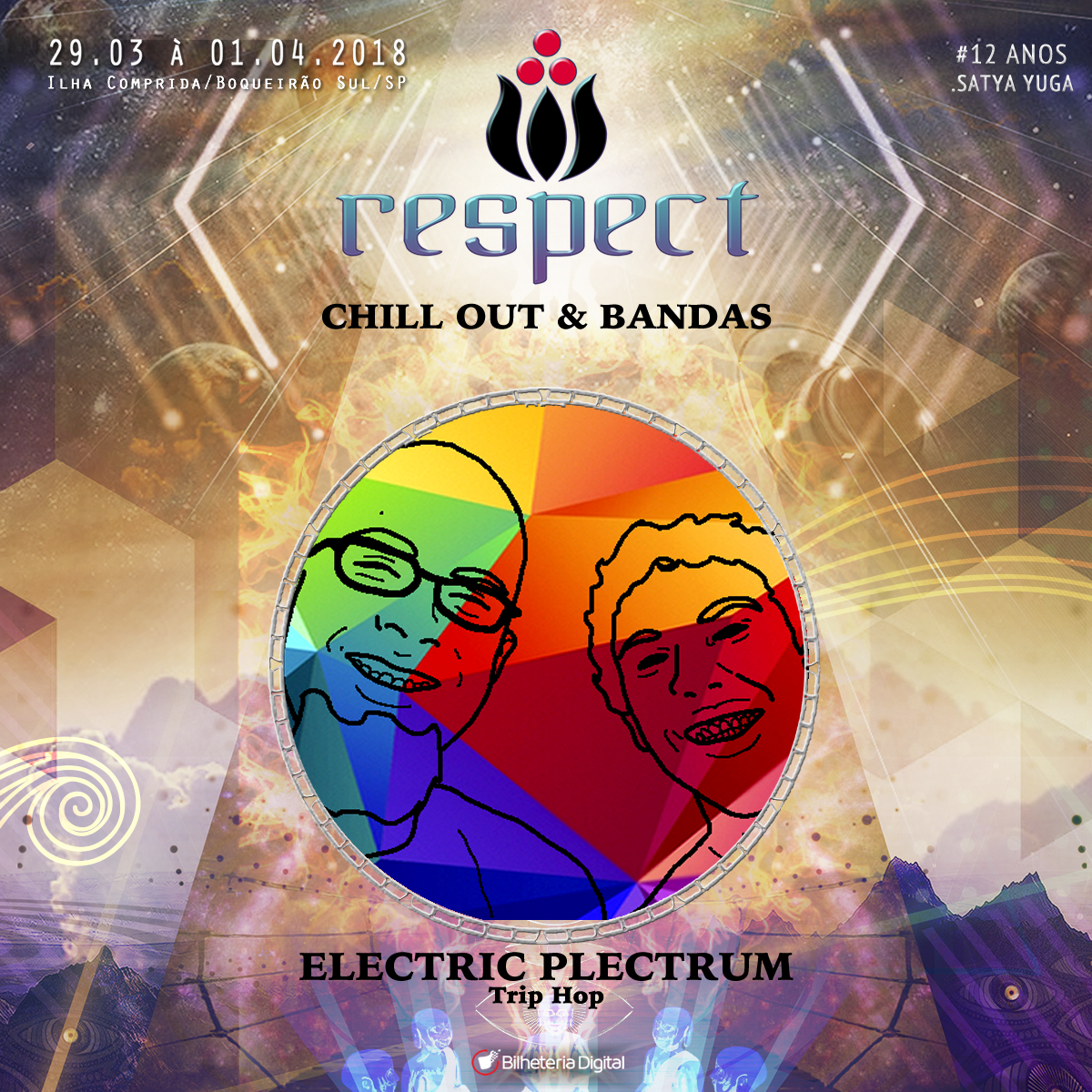 Electric Plectrum @ Artista Confirmado Respect Festival 2018