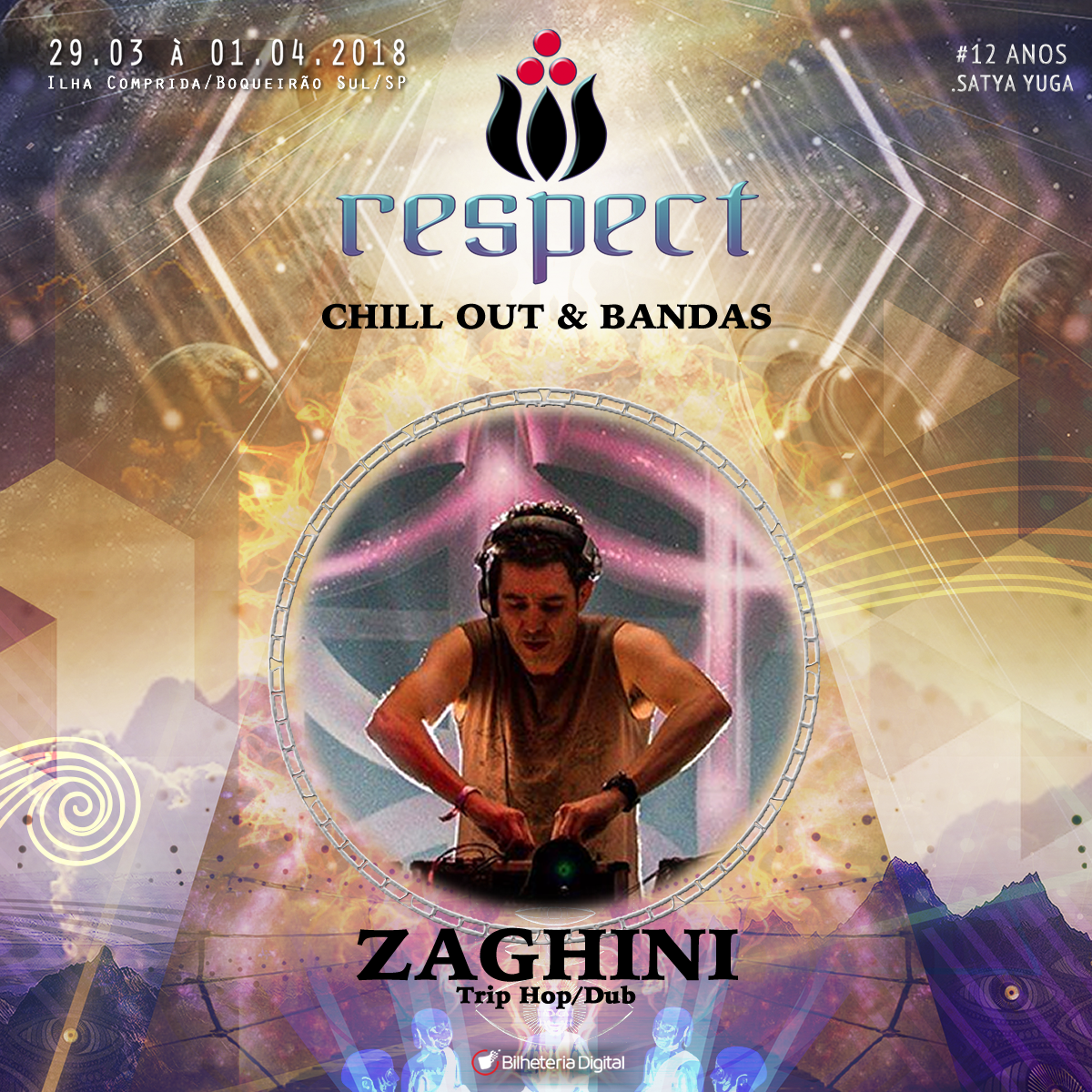 Zaghini @ Artista Confirmado Respect Festival 2018
