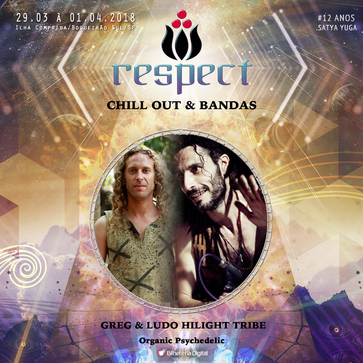 Greg & ludo – hilight tribe @ Artista Confirmado Respect Festival 2018