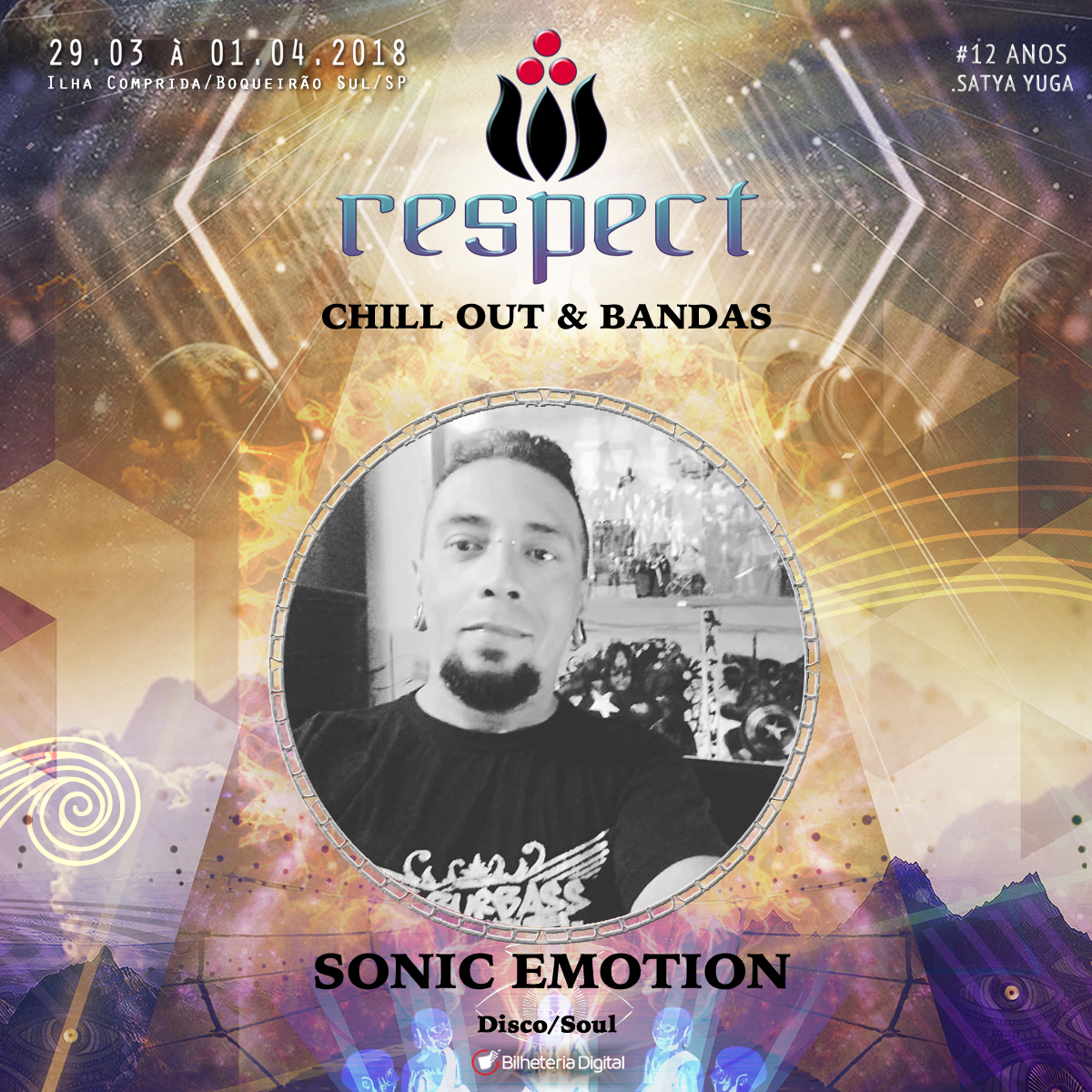 Sonic Emotion @ Artista Confirmado Respect Festival 2018
