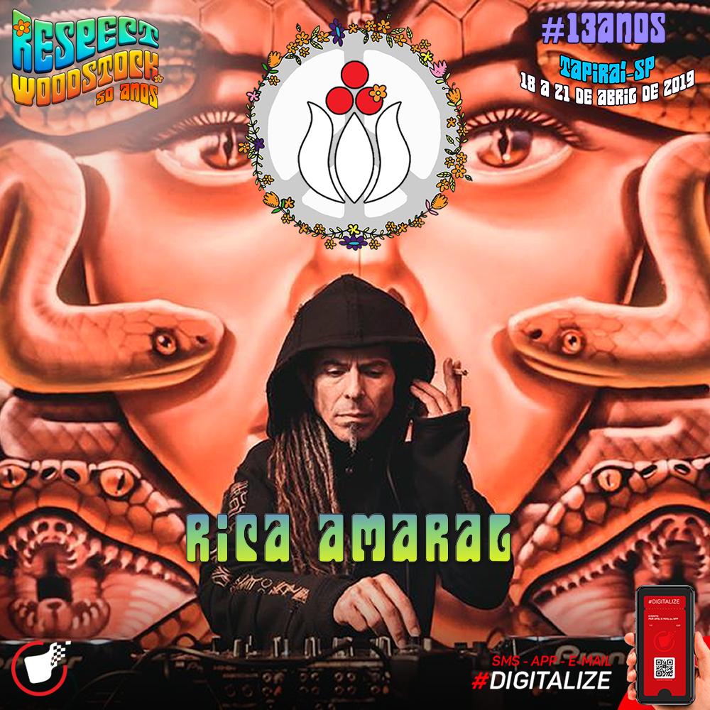 Rica Amaral @ Respect Festival 2019 – Atração  Confirmada